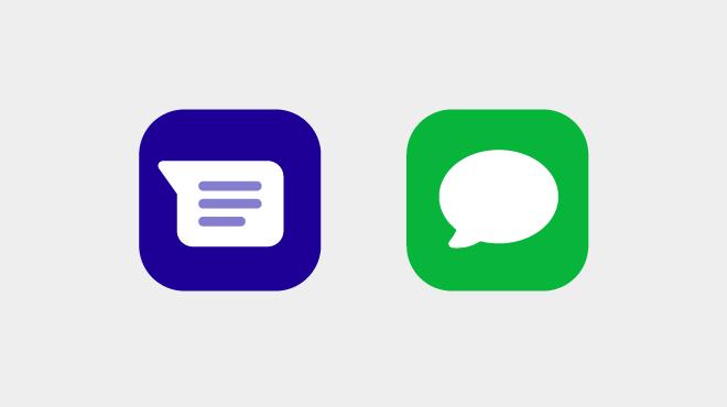 メッセージアプリを利用する