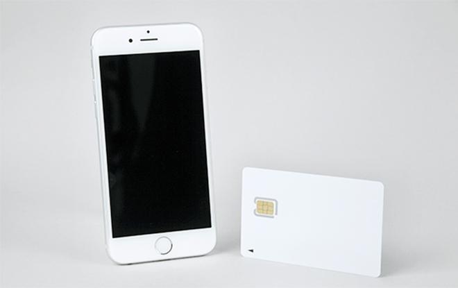 (1)SIMカードと端末を用意する