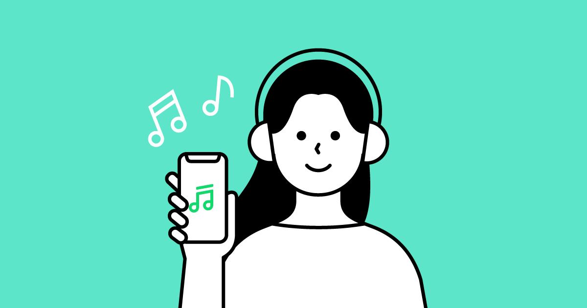Spotify・AWA・LINE MUSICなどの音楽アプリの通信量は?