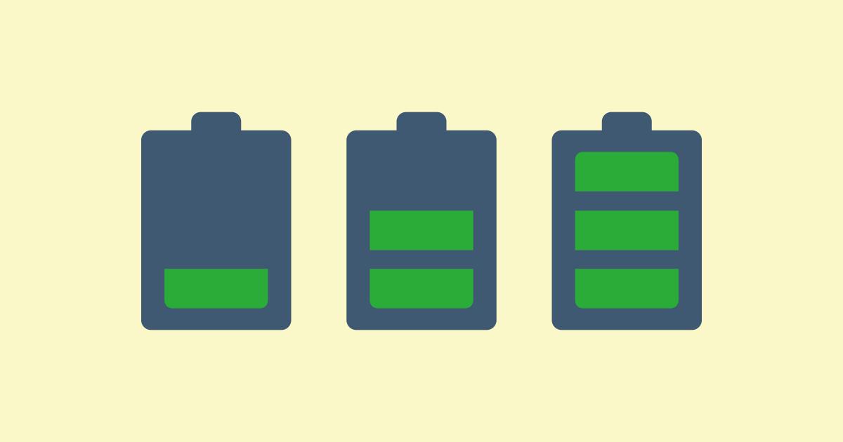 急にスマホの電池の減りが早い!その原因と3つの対策