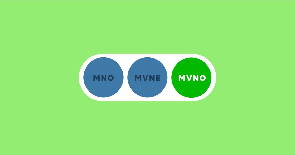 MVNOとは?大手携帯電話会社との違いやメリット・デメリットを解説!